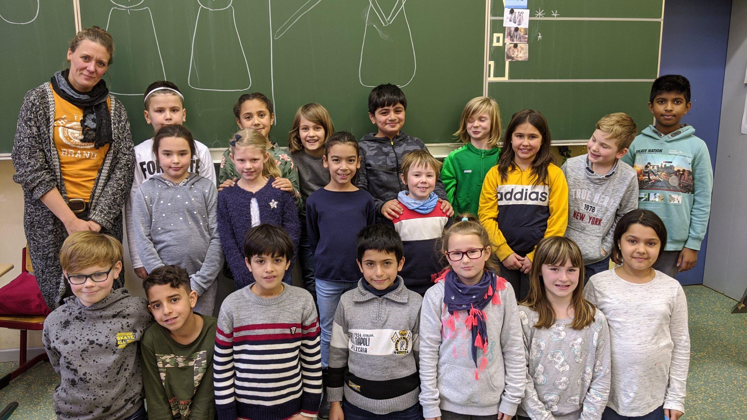Drachenklasse 3b, Klassenfoto 2019