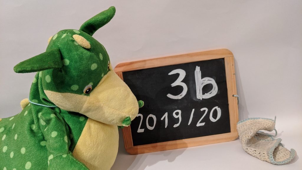 Klassentier Drachenklasse 3b, 2019